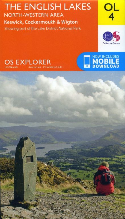 OS Explorer OL 04 The English Lakes - North Western Area